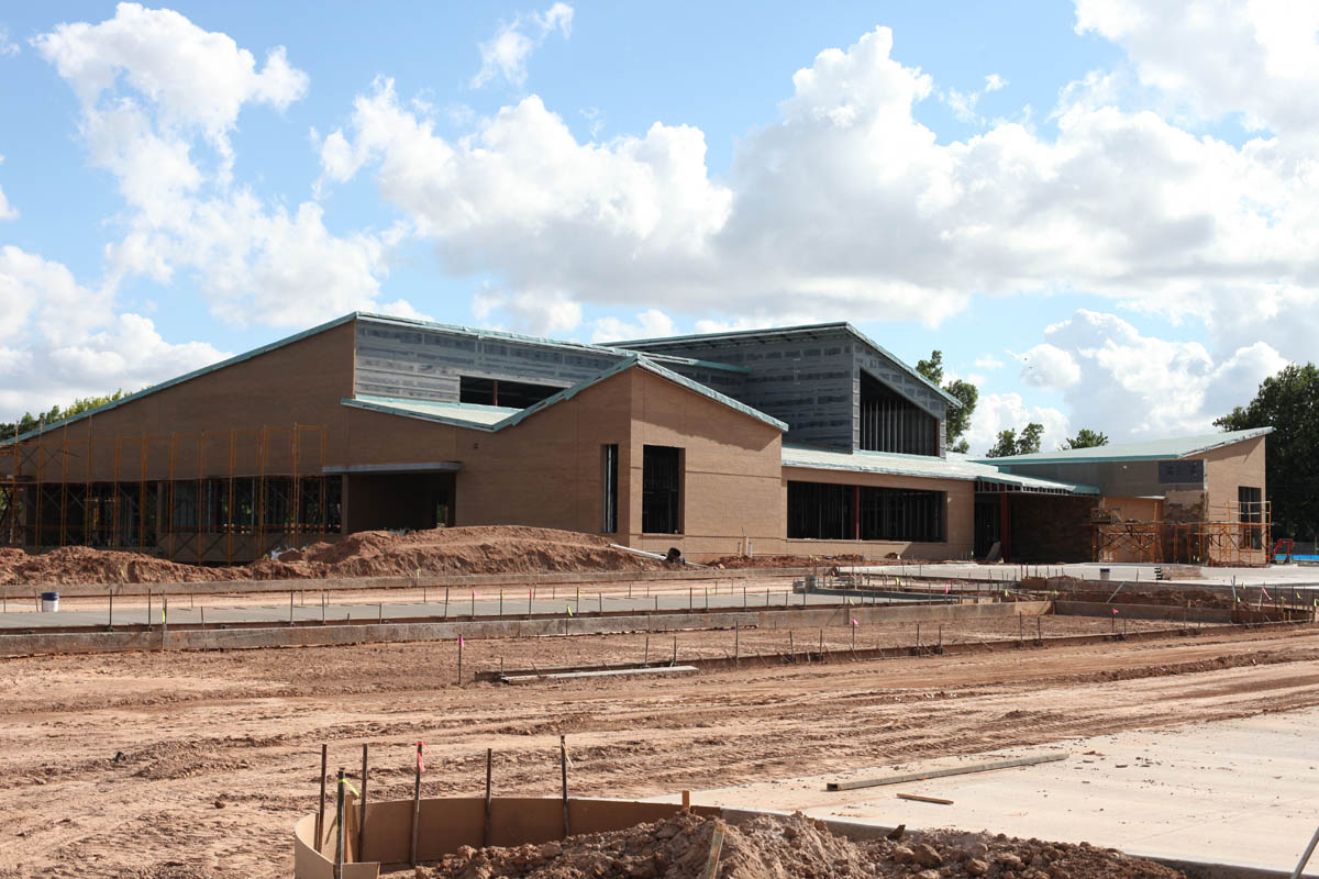 Bethany Library exterior renovation