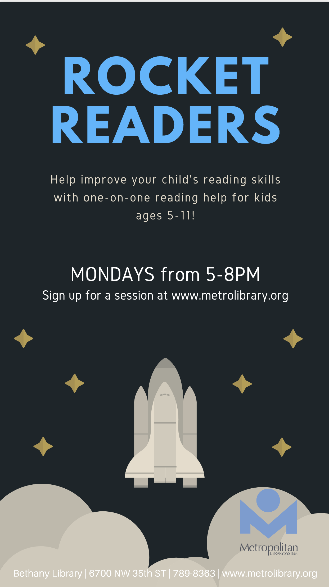 Rocket Readers Flyer