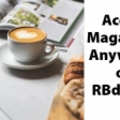 Access Magazines Anywhere on RBdigital