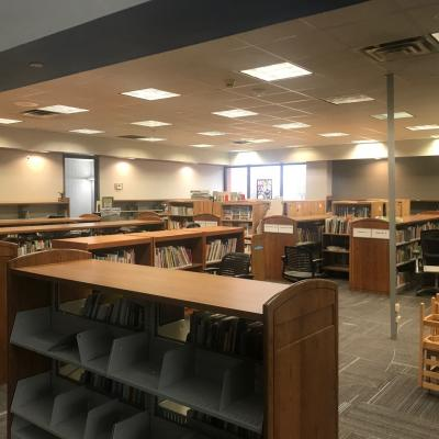 The Village Library interior renovation
