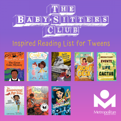Baby Sitters Club Books for Tweens
