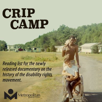 Crip Camp Reading list