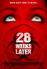 "Movie poster for ""28 Weeks Later"""
