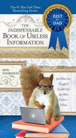 "Book cover for ""The indispensable book of useless information"""