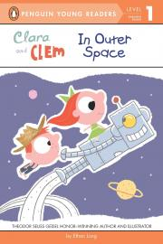 "Book cover for ""Clara and Clem in Outer Space"""