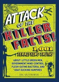 "Book cover for ""Attack of the Killer Facts"""