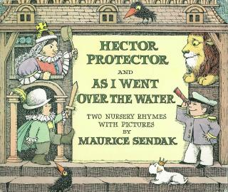 Hector Protector and  As I went over the water: two nursery rhymes with pictures book cover