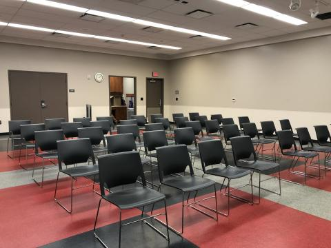 Southern Oaks Meeting Room A with auditorium-style seating