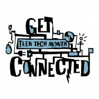 Teen Tech Social Media Graphic