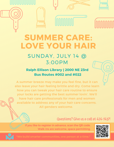 Summer Care: Love Your Hair! | Metropolitan Library System