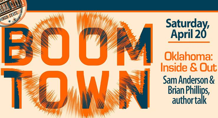 Graphic of Boom Town book