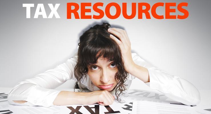 Tax Resources slide