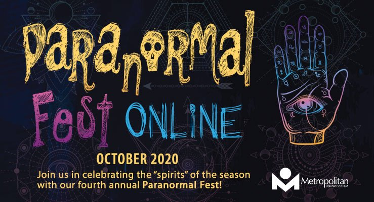 Paranormal Fest 2020 Online.  Celebrate the spirits of the season all online.