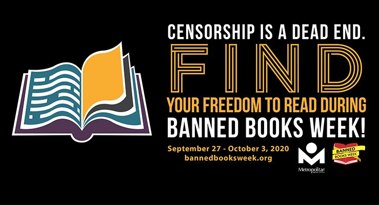 Banned Books Week 2020 at the Metropolitan Library System