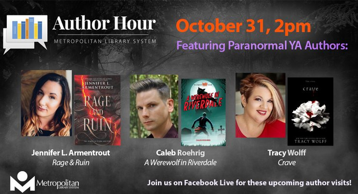 Author hour october 2020 featuring paranormal authors