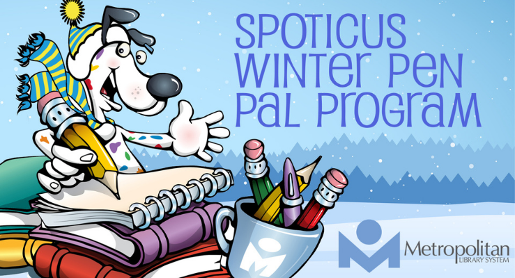 Pen Pals with Spoticus