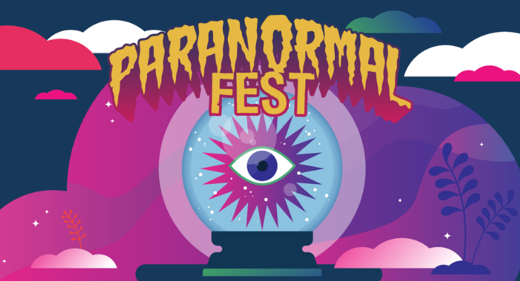 Paranormal Fest 2021 Online.  Celebrate the spirits of the season all online.